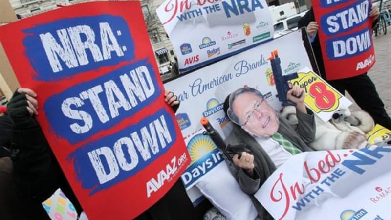 """NRA President Keene thinks more guns in the hands of madmen would solve all our nation's ills,"" writes author [AP]"