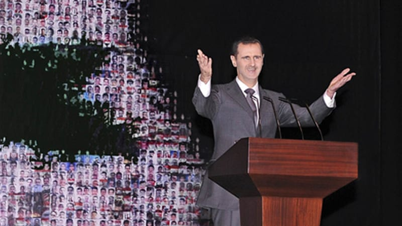 Syria's President Bashar al-Assad has repeatedly stressed he will not step down [Reuters]