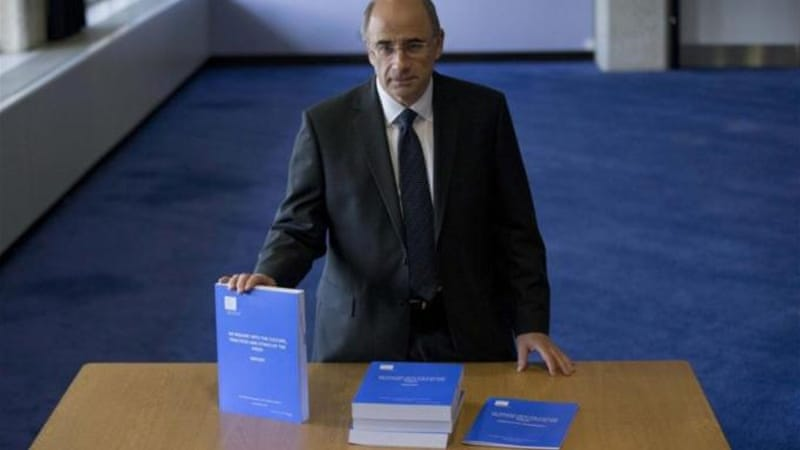 Leveson's proposals for statutory underpinning is resisted furiously by the newspapers and politicians [AP]