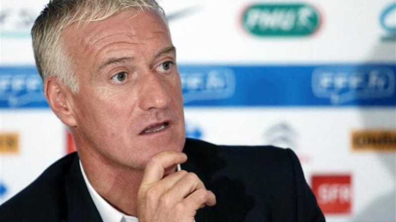 French coach Didier Deschamps is confident but admits Sweden and Portugal provide tough competition [AFP]