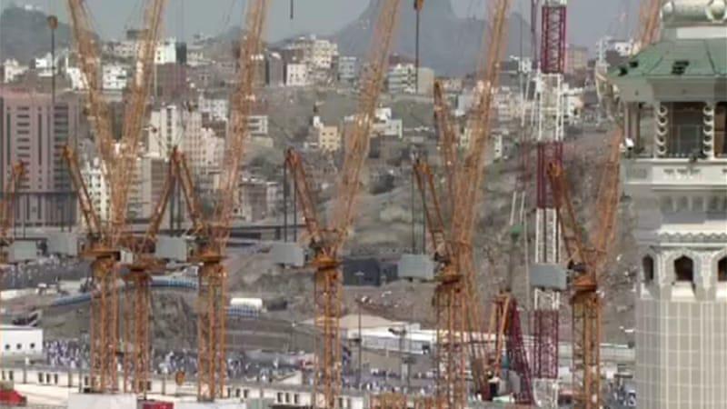 Mecca construction transforms Holy City   Saudi Arabia News