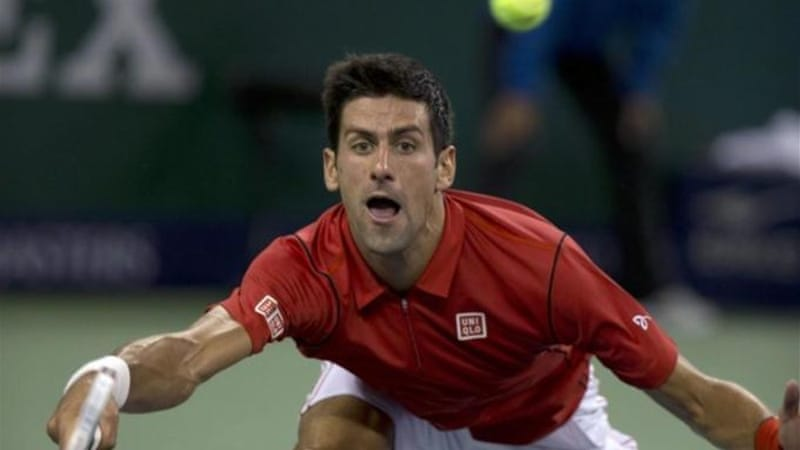 Djokovic's athleticism told as he got his 20th straight victory on Chinese courts [AP]