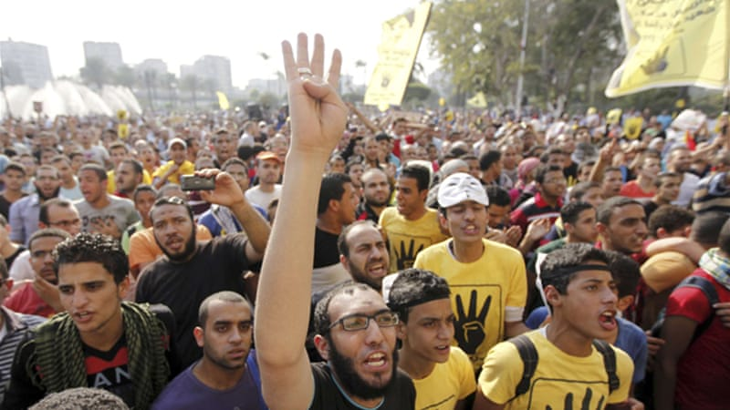 Egypt has seen hundreds of protests over the past year, both during Morsi's tenure and since [Reuters]