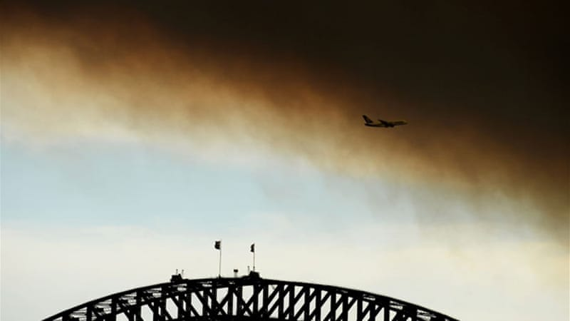 A warm winter followed by a hot, dry spring has set Australia up for a long, hard bushfire season [AFP]