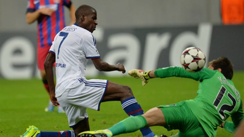 After a surprise 2-1 home defeat by Basel to open Group E, Chelsea dominated Wednesday's game against Steaua Bucharest [AFP]