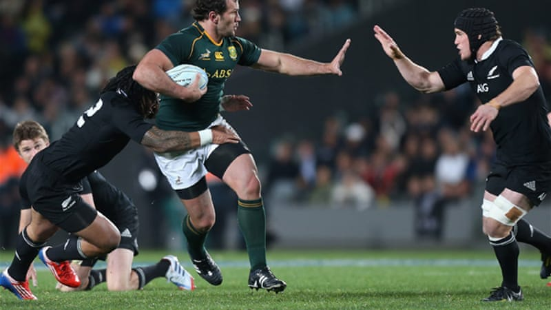 Du Plessis was yellow carded twice in Auckland last month in the 29-15 All Blacks victory [GETTY]