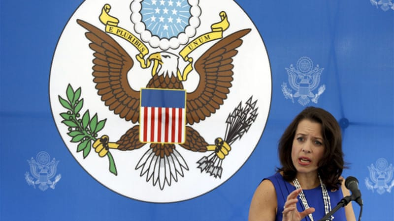 Caracas on Tuesday ordered the expulsion of US charge d'affaires Kelly Keiderling and two other diplomats [Reuters]