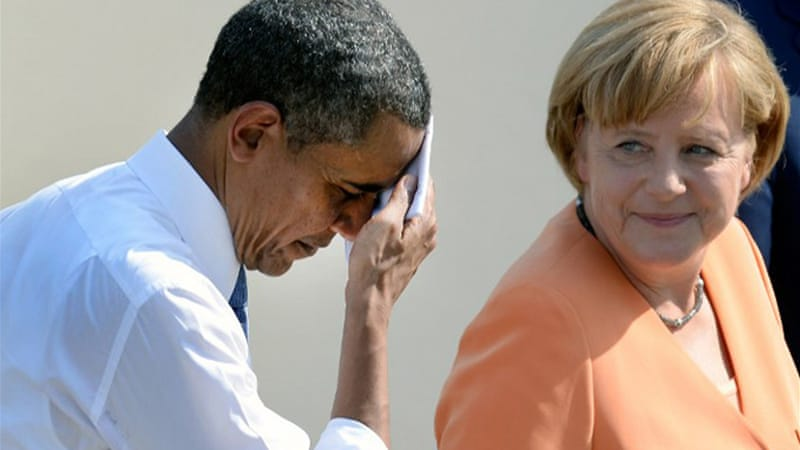 Report by German magazine said that NSA may have bugged Merkel's phone for more than 10 years [File: AFP]