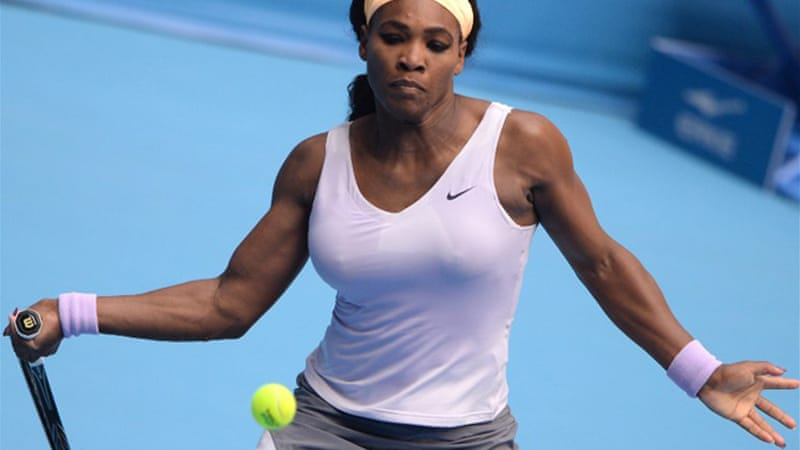 Williams saved three set points in the first set before beating Russia's Maria Kirilenko 7-5, 7-5 [AFP]