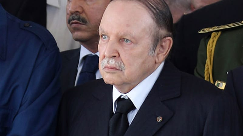 Bouteflika has not himself spoken of being a candidate in 2014  [EPA]