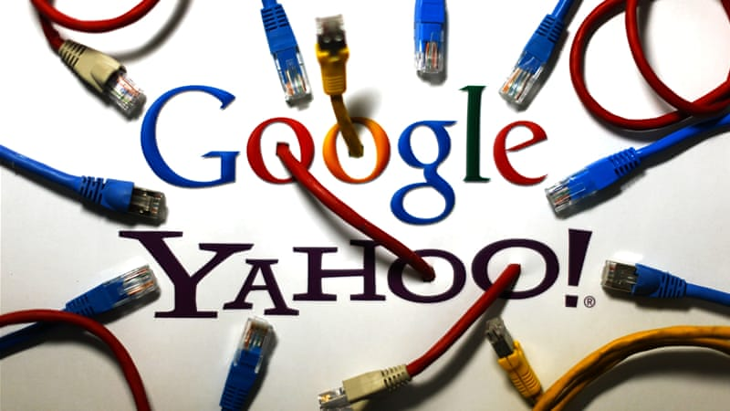 The latest revelations suggest even internet giants Google and Yahoo were spied on by the NSA [Reuters]