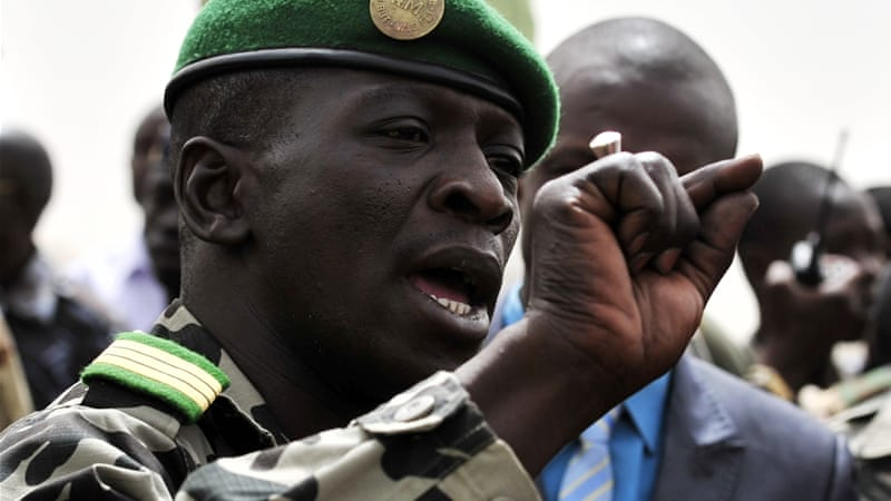 Sanogo led a group of fellow mid-level officers to overthrow then-president Amadou Toumani Toure last year [AFP]