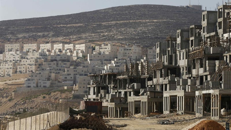 The new homes would be built in a handful of settlements north of Jerusalem [REUTERS]