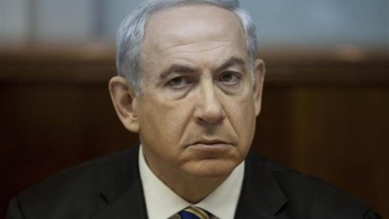 "Netanyahu has said that any easing of economic sanctions on Iran would be an ""historic mistake"" [Reuters]"