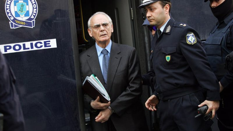 The case which convicted Tsochatzopoulos has become a symbol of political corruption in Greece [AFP]