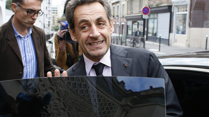 Sarkozy remains embroiled in a string of unrelated legal investigations [AFP]