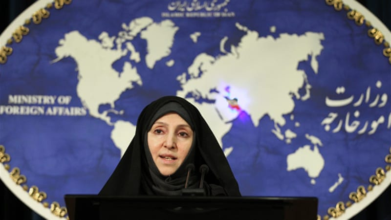 Marzieh Afkham, a spokeswoman for Iran's foreign ministry, announced the diplomatic thaw, as did Hague [EPA]