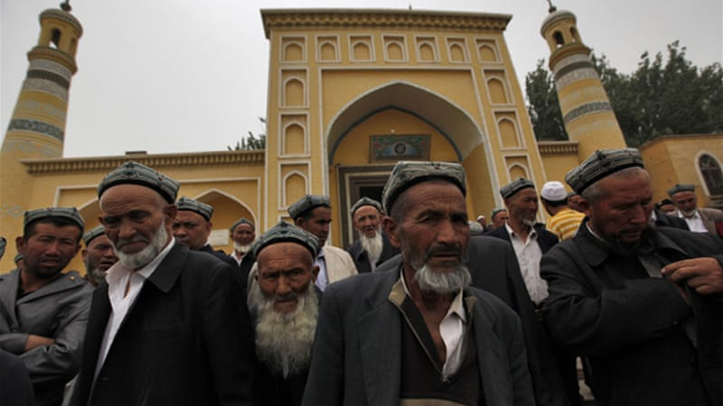 Uighurs make up about 40 percent of 21.8 million people in Xinjiang [EPA]