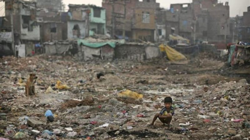 According to the latest data, the largest number of poor lived in the northern state of Uttar Pradesh [AP]