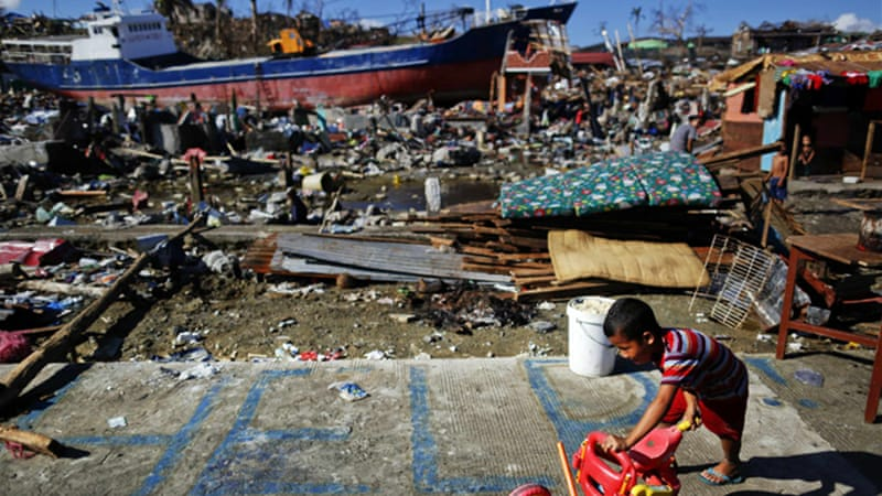 The UN says that more than 13 million have been affected by Super Typhoon Haiyan [Reuters]