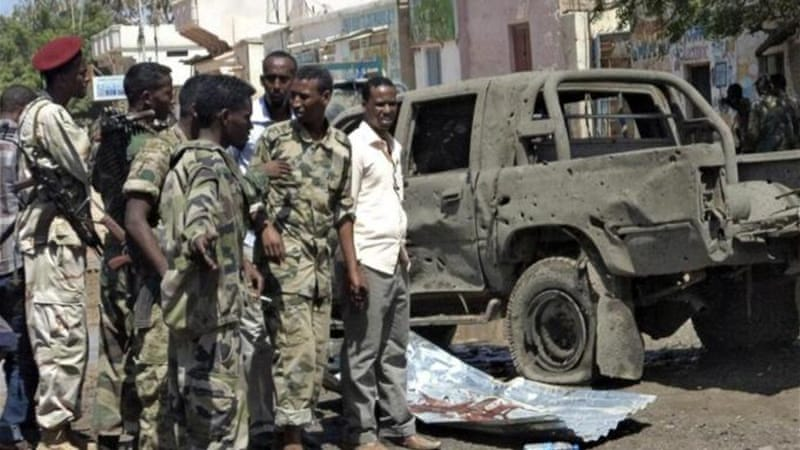 Police have accused al-Shabab of carrying out several large-scale attacks throughout Somalia this year [Reuters]