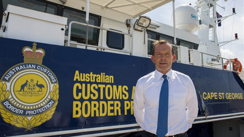 PM Abbott said the relationship with Indonesia was Australia's 'most important', but did not apologise [EPA]
