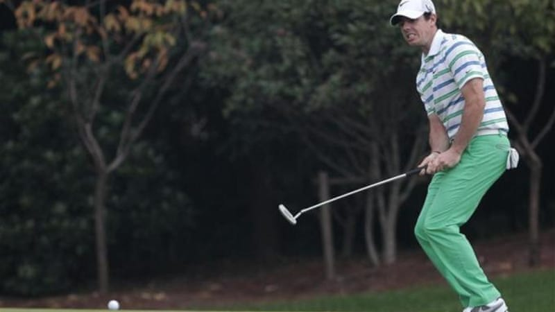 2012 PGA Champion Rory McIlroy is looking for first title win of the season in Shanghai [Reuters]