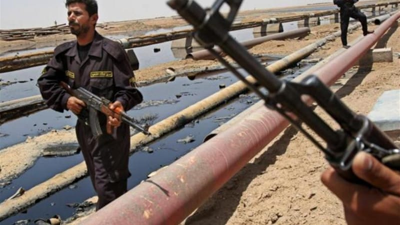 Baghdad says Kurdish efforts towards oil independence could lead to the break-up of the country [AP]
