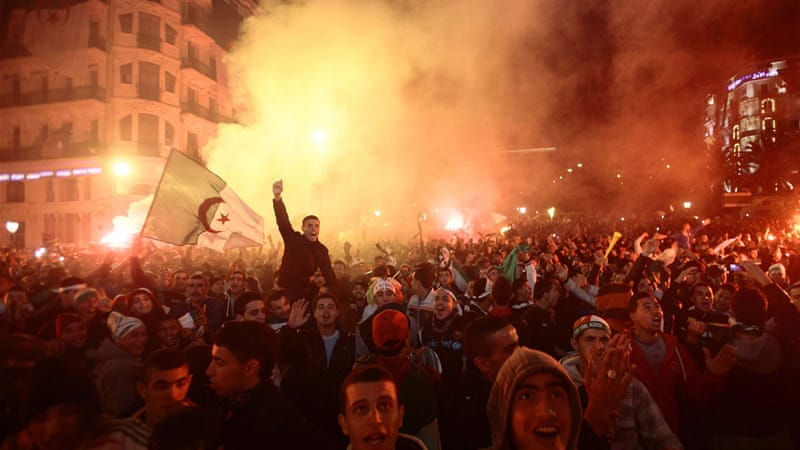 Residents said there was reckless behaviour in the course of the celebrations [Reuters]
