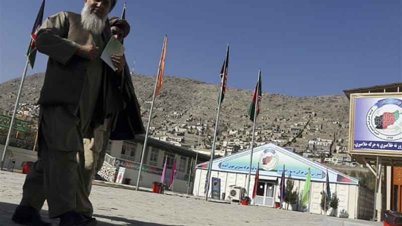 The Loya Jirga council will consider the security agreement before it passes to parliament [Reuters]