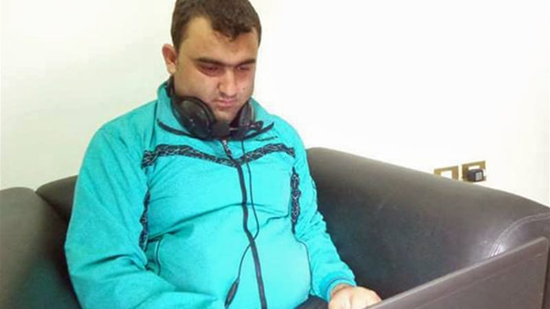 Citizen journalist Mohamed Ahmed Taysir Bellou was reported killed by a sniper in Aleppo [Al-Shahba TV]