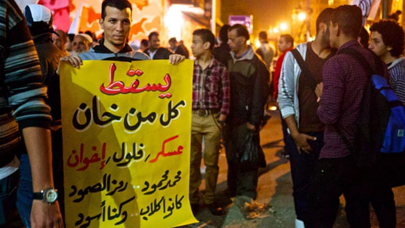 Egyptian protests have brought down the governments of Mubarak and Morsi [Gregg Carlstrom]