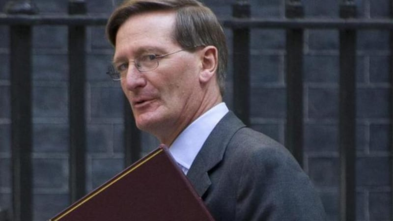 "Dominic Grieve said immigrants came from communities where corruption was ""endemic"" [EPA]"