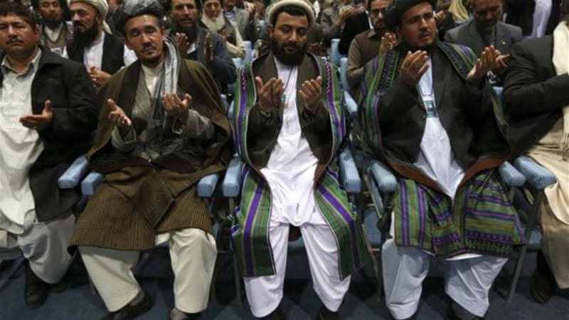 The Loya Jirga endorsed a security pact with the US [Reuters]
