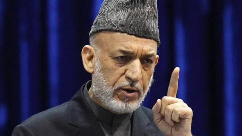 Afghanistan's President Hamid Karzai has been unable to properly negotiate with the Taliban [Reuters]
