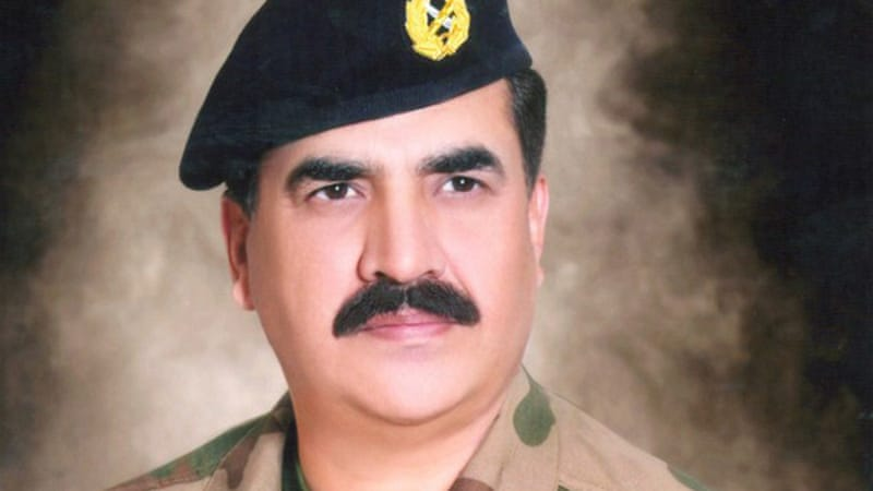 Undated handout portrait of Raheel Sharif released by Pakistan's Inter Services Public Relations in 2013 [AFP]