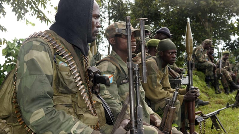 The rebel surrender follows a crushing defeat at the hands of the UN-backed Congolese armed forces [File:Reuters]