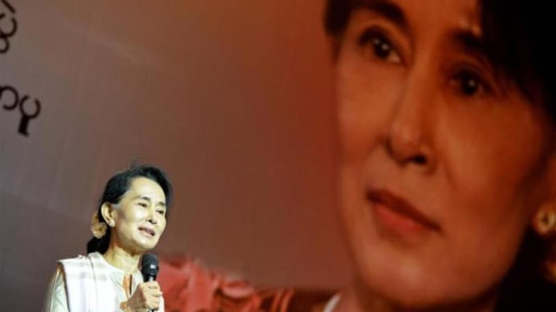"""Suu Kyi's denial of what Human Rights Watch has called ""ethnic cleansing"" and ""crimes against humanity"", deserves international scrutiny,"" writes Maung Zarni [AFP]"