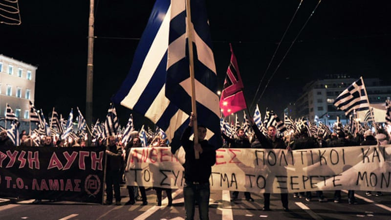 The once fringe party's popularity has surged in the wake of Greece's economic crisis [AFP]