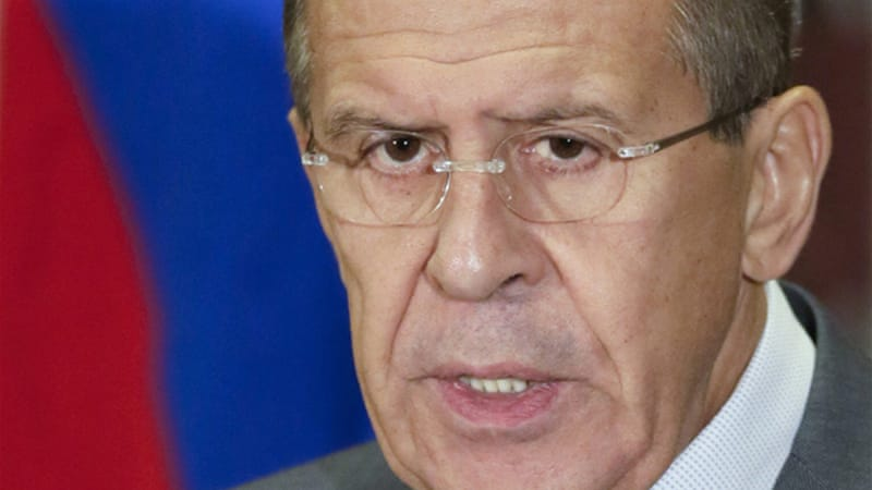 Russia's Sergei Lavrov says all those affected by Syria's conflict should attend the Geneva conference [Reuters]