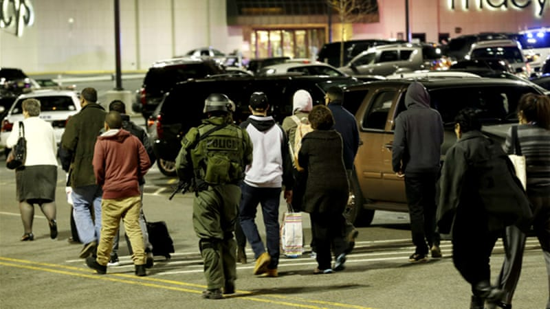 The Garden State Plaza Mall was evacuated on Monday night after reports of a shooter inside [AP]