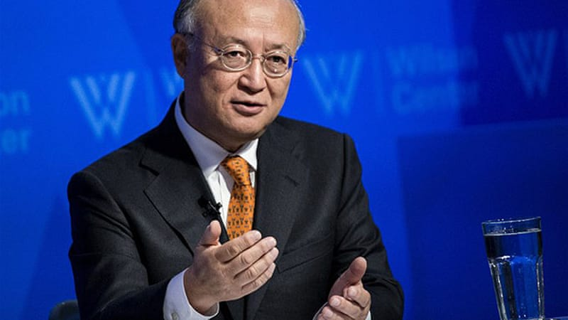 Iran's nuclear chief Ali Akbar Salehi said that Yukiya Amano was expected in Tehran on Monday [AFP]