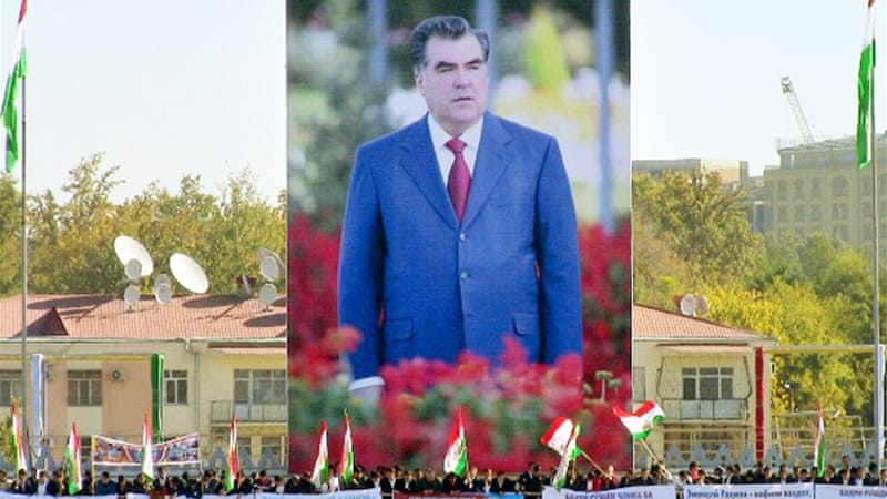 Tajikistan's Rakhmon re-elected president