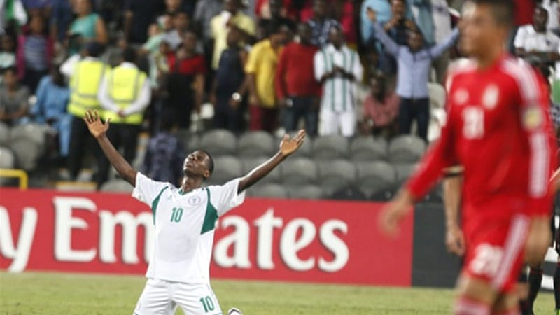 Iheanacho scored for Nigeria in the Under-17 World Cup final [AFP]