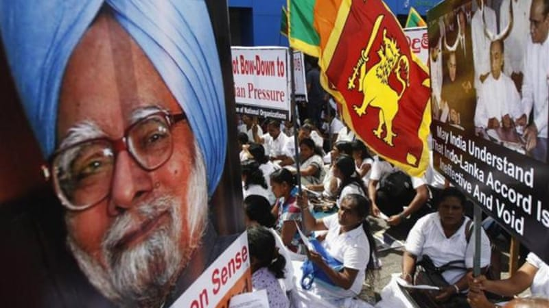 The Indian PM's decision to abstain is likely to be viewed as a snub by Colombo [Reuters]