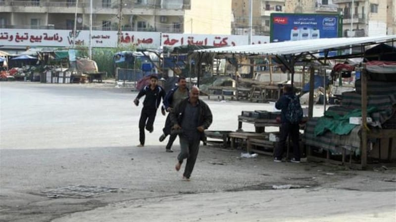 Snipers in the Lebanese coastal city of Tripoli have killed at least 100 people since the start of the Syrian war [AFP]