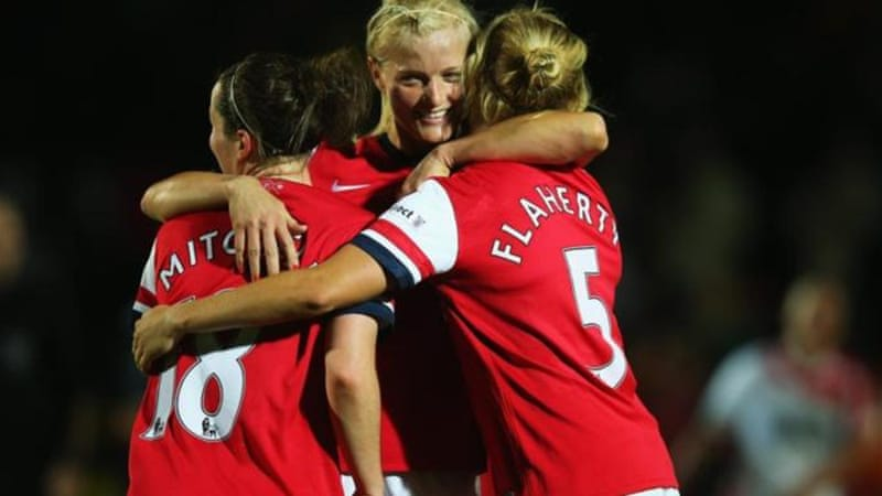 Arsenal dominated the women's game in England for 10 years until last season [Getty Images]