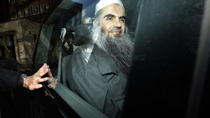 Abu Qatada was once described as Osama bin Laden's right-hand man in Europe [File/AP]