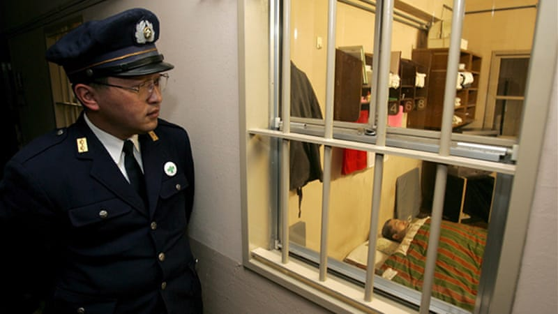 Japan abruptly resumed capital punishment in March last year, dispatching three multiple murderers [EPA]