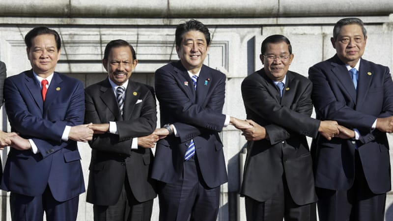 Japan seeks ASEAN backing on territorial dispute with China with a $20bn pledge [Reuters]